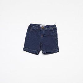 Bermuda Moleton Jeans Baby