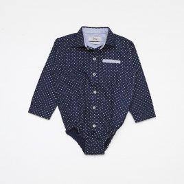 Camisa Body Baby Poa M/L