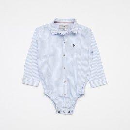 Body Camisa Tricoline M/L