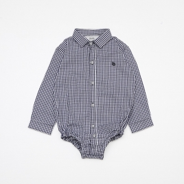 Camisa Body Baby Tricoline M/L