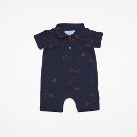 Macacao Polo Baby Pique M/C