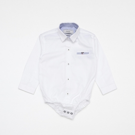 Body Camisa Piquet M/L