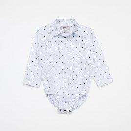 Camisa Body Tricoline M/L